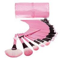 Eyelash Curler 32PCS Makeup Brushes Set Eye Shadow Foundation Powder Eyeliner Lip Make Up Brush Cosmetic Beauty Tool Kit