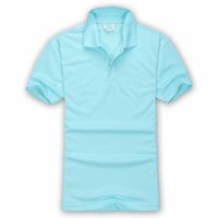 Cocodrilo francés hombre polo camisa de verano Ocio de ocio Algodón suelto medio manga bordado solapa paul manga corta camiseta