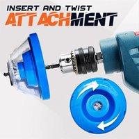 Elektrisk borrdämpning Askskål Impact Hammer måste-ha tillbehörsborrdämpare Dammtät Device Power Tool Accessorie