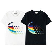 2021 뜨거운 판매 새로운 브랜드 럭셔리 디자인 티셔츠 남성용 티셔츠 머리 티셔츠 여성 T 셔츠 남성 의류 통기성 clothi