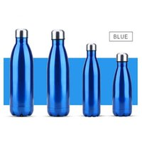 350 500 750 1000ml Double-wall Insulated Vacuum Flask Stainless Steel Water Bottle Cola Water Beer Thermos for Sport Bottle 210610