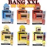 Sigaralar Bang XXL Hızlı Gemi 36 Renkler Paketi Tek Kullanımlık Vape Kalem Kiti Artı XL Puff Hava Çubuğu Akışı 2000 Puffs 6 ml Kapasiteli Pil Buharlaştırıcı