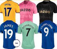 20 21 футбольные трикотажные майки Джеймс Аллан Дукур Футбол футбол набор вратаря 2020 2021 Kean Richarlison Vogie Thailand мужской комплект мужской формы