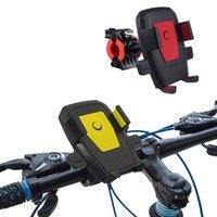 Titulares de montagem do telefone celular Auto Bloqueio Moto Bicycle Suporte de Motocicleta Suporte Guiador GPS Mount Smart for Motor Bike Suporte