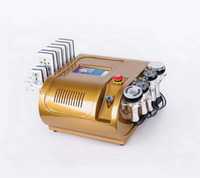 6 IN 1 Ultrasonic Cavitation RF Lipolaser Diode Lipo Laser Slimming Vacuum Body Anti Cellullite Radio Frequency Weight Loss Beauty Machine