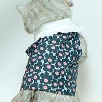 Costumes de chat printemps été chic chic coton costume de coton molle animal de compagnie léger pour chiot kitty