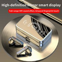 TWS Bluetooth Auricular S20 MIRUJO 5.2 Inalámbrico con 3D TOUCH LED AUDIO AUDIO DE AUDIO DE AUDIO AURBIOS ABAJOS A prueba de agua Auriculares inalámbricos con micrófono
