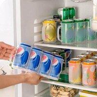 السنانير القضبان 4 ثقوب الثلاجة شرب زجاجة حامل التبريد المطبخ تخزين مربع البيرة الصودا فحم الكوك العفريت يمكن الرف رف توفير الفضاء