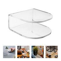 Tissue Boxes & Napkins 1Pc Table Vertical Napkin Holder Dispenser Acrylic Paper Rack