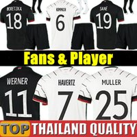 2020 لكرة القدم بالقميص هاملز كروس قميص كرة القدم 20 زيألمانيا 21 DRAXLER REUS MULLER GOTZE الرجال النساء الأطفال كيت