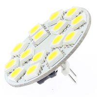 LED G4 3W Light Round Board SMD 5050 Large Voltage AC / DC10-30V BACK PIN 12V 24V MR11 MR16 Remplacement halogène