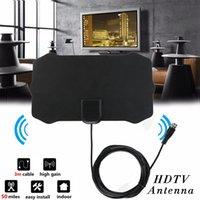 1080P Indoor Digital TV Antenna Signal Receiver Amplifier Radius Surf Fox Antena HDTV Antennas Aerial Mini DVB-T T2 DHL