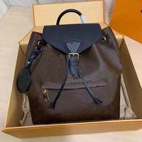 Роскошные дизайнерские рюкзаки рюкзаки Женские сумки с тиснением Цветы рюкзака моды пакеты школьные сумки классические мини студент