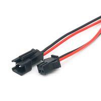 10 pairs 15 cm uzun JST SM 2pins fiş erkek kadın tel konektöre