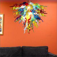 Girban уникальный дизайн американский чихулы стиль вручную стеклянные люстры удивительные современные вздутые стеклянные люстры висит потолочное освещение
