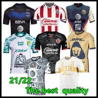 Größe S-2XL Liga MX 21 22 Club America Soccer Jerseys Leon Dritter 2021 2022 Camisetas Tijuana Tigres Unam Chivas 115th 115 Year Kit Fussball Hemden