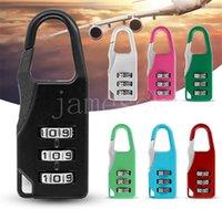 3 Mini Dial Digit lock Security Travel Safe Number Code Password Combination Padlock for Padlocks Luggage Locks of Gym DD369