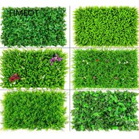 Decorative Flowers & Wreaths 40*60 Artificial Plants Green Wall Panel Lawn Carpet Landscaping Decor For Home Outdoor Wedding Backdrop Turf G