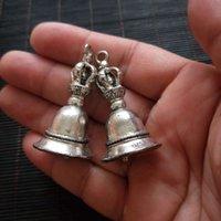 Partihandel Tibetansk Silver Bell Dog Bell Koppar Tiger Head Bell Ancient Style Copper Retro Koppar