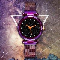 손목 시계 온라인 유명 인사 S 스타일 스타 다이아몬드 세트 게으른 자기 버클 여성 시계