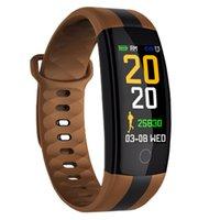 QS01 Smart Armband Fitness Tracker Blutdruck Herzfrequenz Monitor Smart Watch Wasserdichte Passometer Armbanduhr für iPhone Android Uhr
