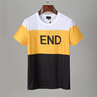 21SS 디자이너 T 셔츠 망 의류 브랜드 탑 티 셔츠 패션 여름 조류 망막 편지 인쇄 고급스러운 남자 셔츠 의류 LOL
