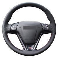 Steering Wheel Covers Black Genuine Leather Car Cover For Great Wall Haval Hover H1 H6 2013-2021 M6 C30 2021-2021 M2 M4 2014