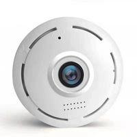 Cameras WIFI Camera 360 Degree Panoramic Fisheye 960P HD MINI Wireless IP Indoor Home Security
