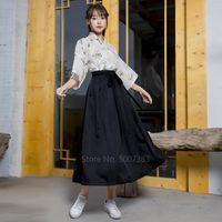 Японский стиль кимоно платье кардиган цветочные хаори женщины полные рукава верхняя юбка костюм для девочки Сакура хараджука винтажная партия юката