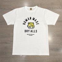 2021 Neue Slub Baumwolltrockner Alles Tiger Druck Menschliches T-Shirt Männer Frauen T-shirts Tops T-Shirt-Kleidung Harajuku D77W