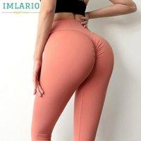 Imlario Kabarcıklar Scrunch Bum Tayt Kadın Gym Egzersiz Tayt Bulifting Yoga Spor Pantolon Squatproof Spor Activewear1