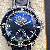 Вечность Часы JBF Последнее обновление Пятьдесят Fathoms Real Tourbillon Automate 5025-1530-52 Резервный циферблат 55-1530-52 Резервное копирование электрических часов