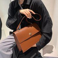 Shoulder Bags Leather Designer Handbag Tote Bag Women's Strap Large Capacity Woman Satchel Female Shopping Messenger 2021 Ladies