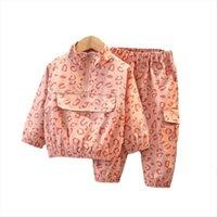 Abbigliamento per bambini Abbigliamento Autunno Bambini Abbigliamento Ragazzi Ragazzi Sport Giacca Pantaloni 2 PZ Set Toddler Costume attivo Bambini TrackSuits