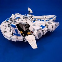 05142 In stock Planet Series Kessel Run Millennium Falcon Building Blocks Toy Christmas gift Comptible 75212