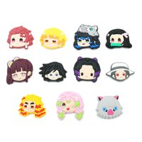 Hot Items 100pcs lot anime comic soft pvc shoe charms jibtz for clog babe accessories cartoon shoes ornaments decorations as promotional gift