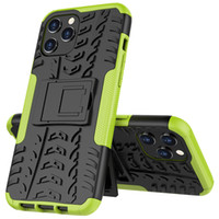 Pour iPhone 11 12 Pro Max Samsung Galaxy Note 20 S20 Huawei P40 Stand Rough Caoutchoube Case Hybrid Heavy Devoir