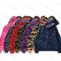 2021 Mens femmes design de camouflage Sweats à capuche à capuche à capuche Paris Hoodie Cardigan Cardigan Classic Automne et hiver Mince Peluches Femmes Manteau Pullsuits