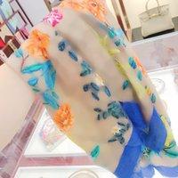 Mode lange Blumen Pashmina Kaschmir Schal Schals 4 Saison Gedruckt Blumenhaarring Warme Wrap Schals Unisex Schal Winter Stirnbänder KERCHief mit Kasten Top Qualität