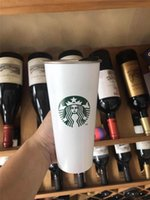 2020 ستاربكس فراغ معزول السفر القهوة القدح الفولاذ الصلب بهلوان العرق الحر الترمس قارورة زجاجة المياه السفينة مجانية 13 S2