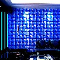 Wallpapers KTV Wallpaper 3D Stereo Personality Fashion Flash Wall Cloth Bar El Fancy Ballroom Box Theme Room