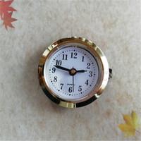 도매 5pcs 금 지름 50mm 삽입 시계 내장 - 시계에서 로마 및 공예 시계에 대한 arbic 번호