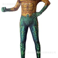 DC movie cartoon Sea King Cosplay 3D tights adult children Halloween role play costume