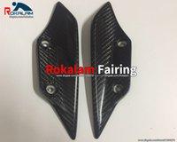 뜨거운 판매, 전면 펜더 스포일러 winglets 페어링 탄소 섬유 사이드 윙 허머리 S1000rr HP4 2009-2014 측면 날개
