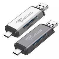 Multi USB3.0 TYPE-C Micro USB OTG with SD TF Card Reader for Computer MacBook Tablet