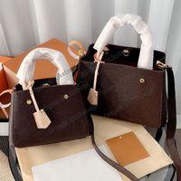 Designer di lussurys borse borse da borse Montignne BB Borsa da donna Borsa in rilievo Genuine Genuine Top Pelle Designer Designer Designer BOTS Crossbody Borsa