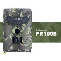 Охотничьи камера Автоматическая камера наблюдения, противоугонные водонепроницаемые инфракрасные ночное видение