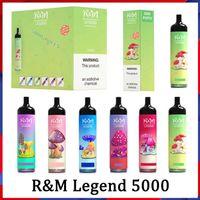 RM Legend Monouso E Sigarette Cartoon Design Kit 5000Puffs Pape Pen 12ml Pods pre-riempiti Pods 950mAh Battery Randm Vapori r e m