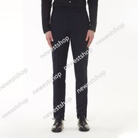 Tb Thom Fashion Pants Men Slim Casual Suit Men's Business Black Spring and Autumn Solid Formal Trousers