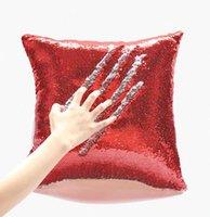 패션 모든 종류의 스타일 스팽글 베개 케이스 고품질 침실 소파 홈 섬유 장식 선물 도매